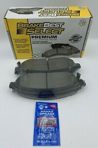 NEW BrakeBest Select Ceramic Disc Front Brake Pads SC1080 2005 Jeep MSRP $50.99