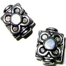 20 Pieces 7x9mm Tibetan Silver Alloy Metal Beads - A0241