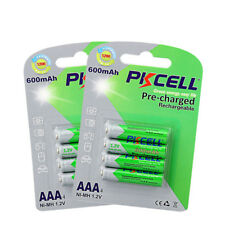 AAA Triple A NI-MH precharged Rechargeable Battery 600mAh 1.2V 2packs
