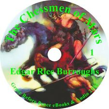 The Chessmen of Mars Sci-Fi Audiobook Edgar Rice Burroughs English on 1 MP3 CD