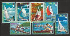 Equatorial Guinea Summer Olympics Kiel 1972  MNH stamp set of 7