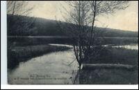 Melang See Brandenburg alte AK 1925 Partie am See Verlag Franke in Buckow Nr. 7