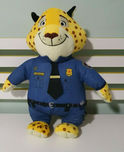 DISNEY ZOOTOPIA OFFICER CLAWHAUSER PLUSH TOY! SOFT TOY ABOUT 45CM TALL KIDS TOY!