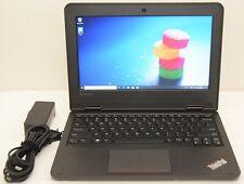 """New listing Lenovo ThinkPad 11e 11.6"""" Amd A4-6210 4 Core 1.8Ghz 500Gb 4Gb Win10 Pro"""