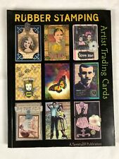 Rubber Stamping Artist Trading Cards By Jill Haglund Collage Altered Art, Media