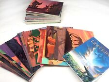 1994 The Lion King Animated Movie 90 card Set, 90% complete, 7 missing cards