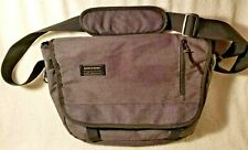 Swiss Gear Messenger Bag Shoulder Bag Wenger Gray New without Tags