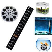 aquarium celsius / celsius. thermometer aufkleber temperatur thermograph