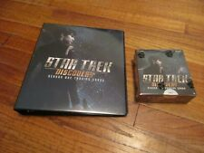 Star Trek Discovery Season One Factory Sealed Box & Binder + P1  1