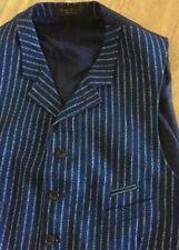Casual Striped Regular Size Waistcoats for Men