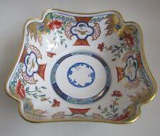 Le Tallec. Paris. Coupe en porcelaine décor polychrome dans le goût imari, XXe