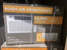 GE 24000-BTU 1500-sq ft Window Air Conditioner 230-Volt with Remote AHS24DX NEW!