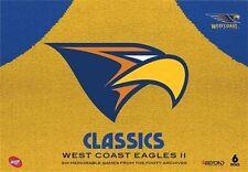 AFL - Classics - West Coast Eagles : Vol 2 (DVD, 2016, 6-Disc Set)