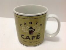 Sakura Paris Cafe Coffee Mug Cup Angela Staehling Coffee Break Stoneware