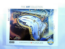 Salvador Dali Soft Watch At Moment Of First Explosion 1000-Piece Puzzle SEALED