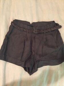 Forever 21 Belted Shorts