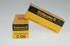 2 Rolls of UNUSED Kodak C120 Kodacolor II Color Print Film JUNE 1978