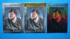 Lot Game Of Thrones Season 5 Gold+Parallel Foil+Base Card 35 Samwell Tarly 4/150