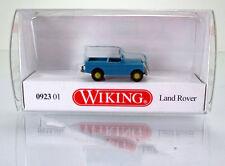 Wiking 092301 Land Rover-Hell turquesa/crema beige-scale 1/160 n