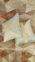Eastern Accents Hand Crafted Throw Pillow Set, 2 pieces, 14 x 16