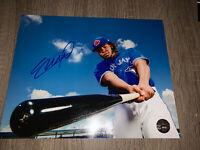 VLADIMIR GUERRERO JR. HAND SIGNED AUTOGRAPH 8X10 PHOTO TORONTO BLUE JAYS W/COA