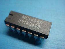 (1) MOTOROLA MC1496P BALANCED MODULATOR DEMODULATOR 14 PIN DIP ( = LM1496N )