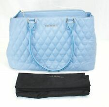 Vera Bradley Quilted Emma Tote Chambray Leather NWT
