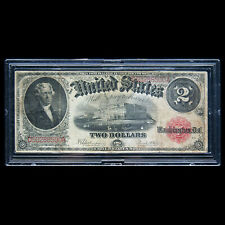2 DOLLAR 1917 RED SEAL THOMAS JEFFERSON LEGAL TENDER UNITED STATES NOTE