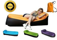 SanTORMAS Inflatable Lounger, Portable Air Hammock With Travel Bag, Water-proof