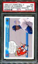 1992 UPPER DECK COMIC BALL 3 #89 KEN GRIFFEY JR.-SAM POP 5 PSA 10 B2889389-575