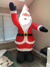 8ft Airblown Waiving Santa Clause Inflatable