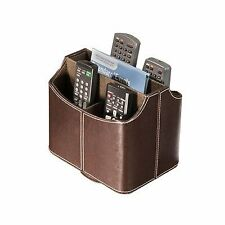 Remote Control Organizer Storage Holder Caddy Leather TV Couch Arm Chair