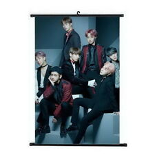 Kpop BTS Bangtan Boys Hanging Painting Art Painting Wall Scroll Poster