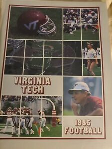 Virginia Tech Football 1985 Media Guide