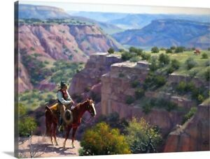 Hard to Get To Canvas Wall Art Print, Horse Home Decor