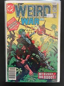 Weird War Tales 101 Higher Grade DC Comic Book D34-87