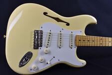 Fender Eric Johnson Thinline Stratocaster Antique White Guitar