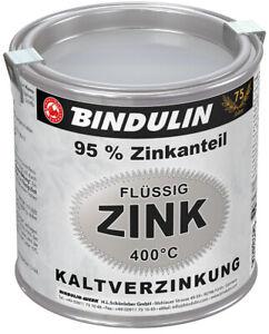 Bindulin Flüssig-Zink 750 ml Dose Silber Zink-Ausbesserungsfarbe 49,20€ / L