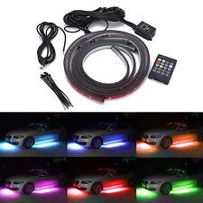 Million Color Wireless 5050 LED Underbody Light Kit LED Underglow Neon Strip x4