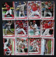 2019 Topps Series 2 Cincinnati Reds Team Set Of 12 Baseball Cards