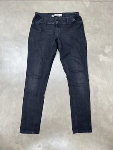 next maternity jeans 10 Black Relaxed Skinny Fit