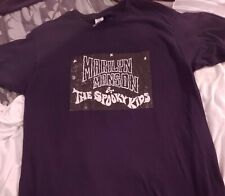 Vintage Marilyn Manson and the Spooky Kids Shirt size Large