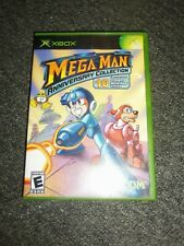 XBOX Mega Man Anniversary Collection Case and Manual ONLY