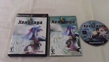 Xenosaga Episode I Der Wille zur Macht Playstation 2 PS2 Video Game Complete