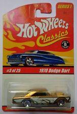 Hot Wheels Classics Series 1 1970 Dodge Dart 3/25 (Gold Version)