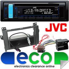 Mercedes Vito W639 2006-2015 JVC CD MP3 USB Aux Car Stereo Fascia & Fitting Kit