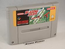 BLAZING SKIES - NINTENDO SNES SUPER NES 16 BIT PAL - CARTUCCIA LOOSE - ORIGINALE