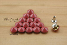 rivets leather rivet bag clothing shoes Cone 100 sets 7 mm AT53E