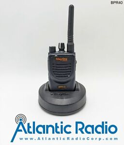 Motorola Mag One BPR40 UHF450-470MHz Portable Two-Way Radio - 8 Channels