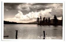 RPPC Big Bear Lake, CA Real Photo Postcard